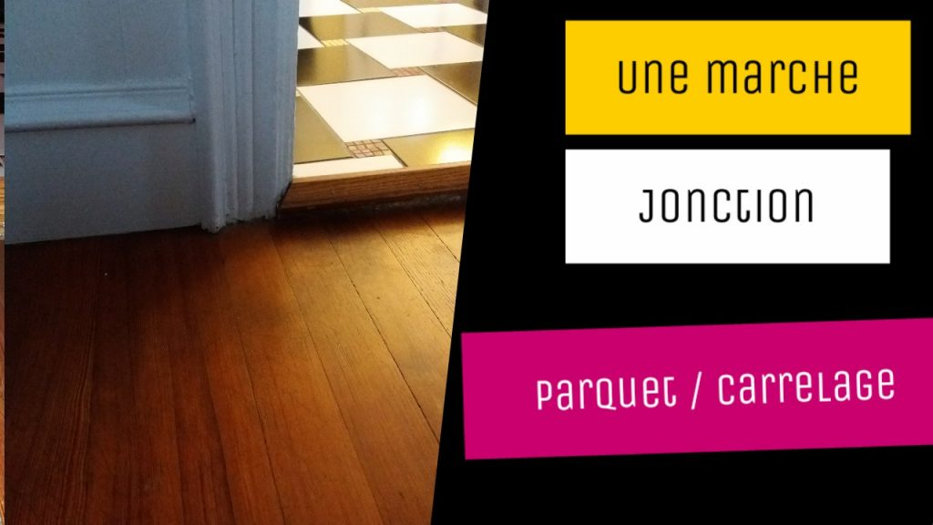 jonction parquet carrelage