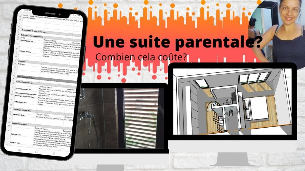 suite parentale avec dressing et salle de bain