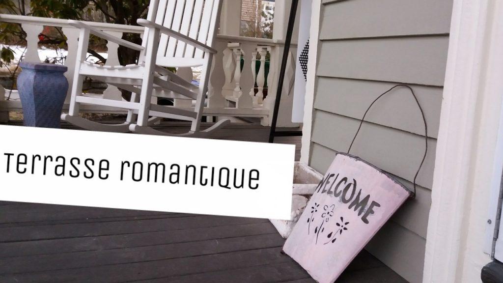 sol terrasse bois romantique style