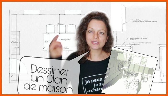 Comment dessiner un plan de maison 2d 3d