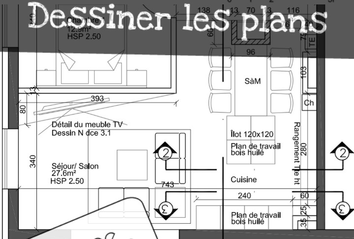 plan orijet rénovation 1/50