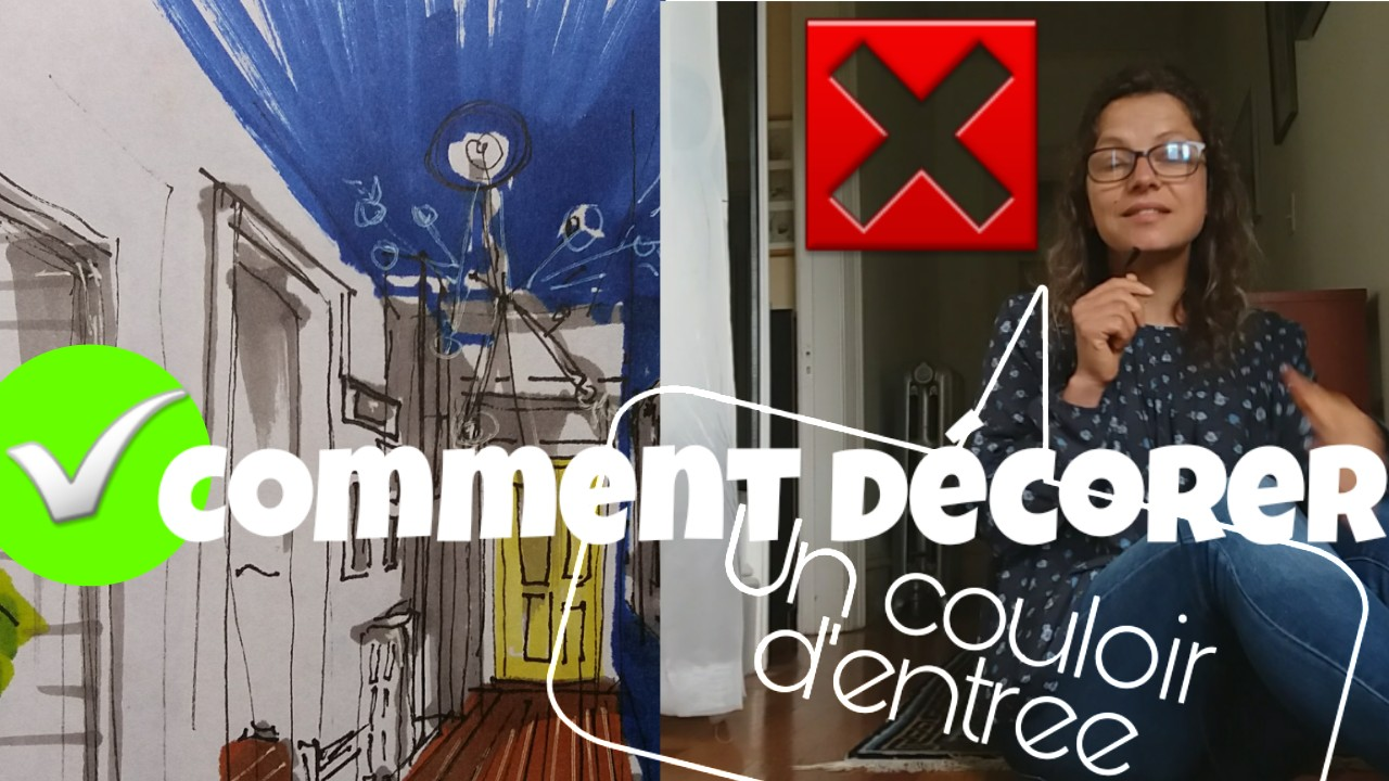 comment descorer son couloir d entree