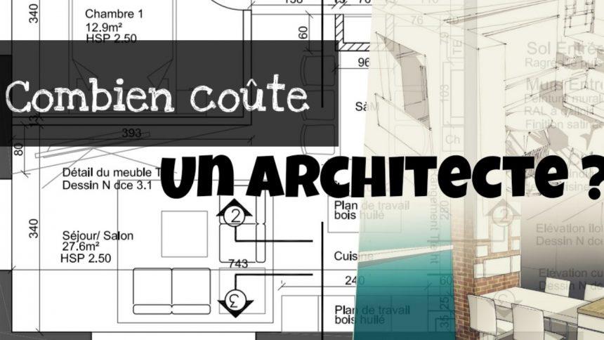 combien coute un architecte