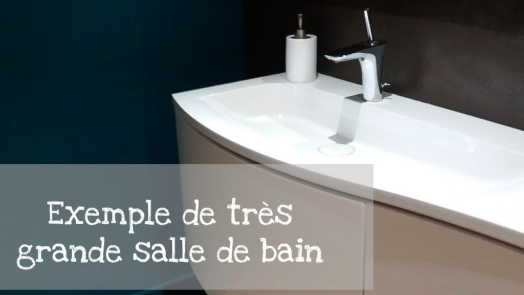 exemple amenagement grande salle de bain