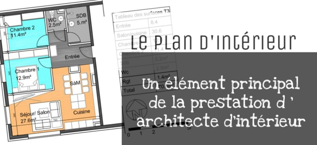 plan architecte d interieur