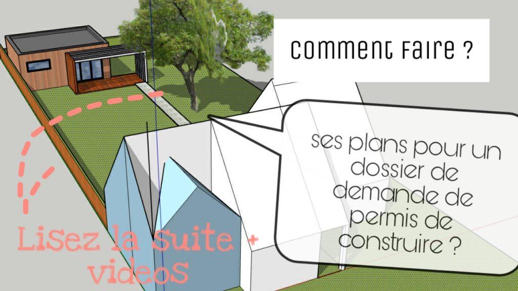 Plan maison permis de construire