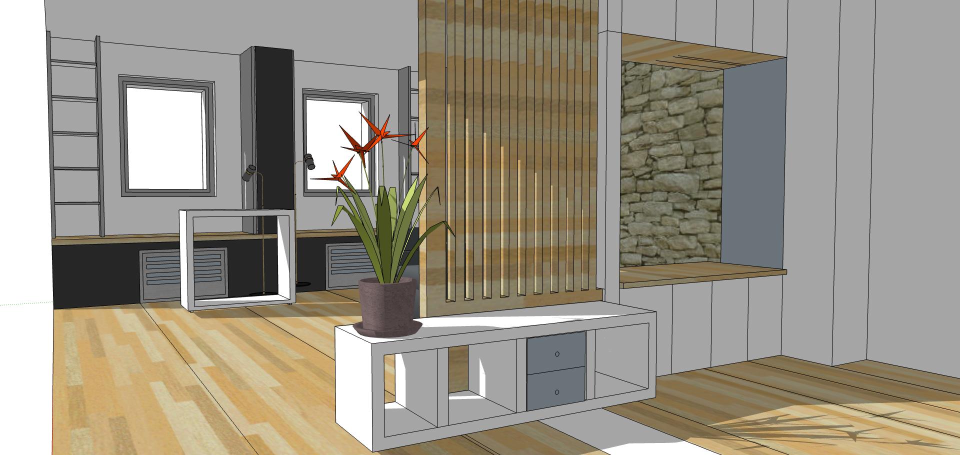 aménagement intérieur maison