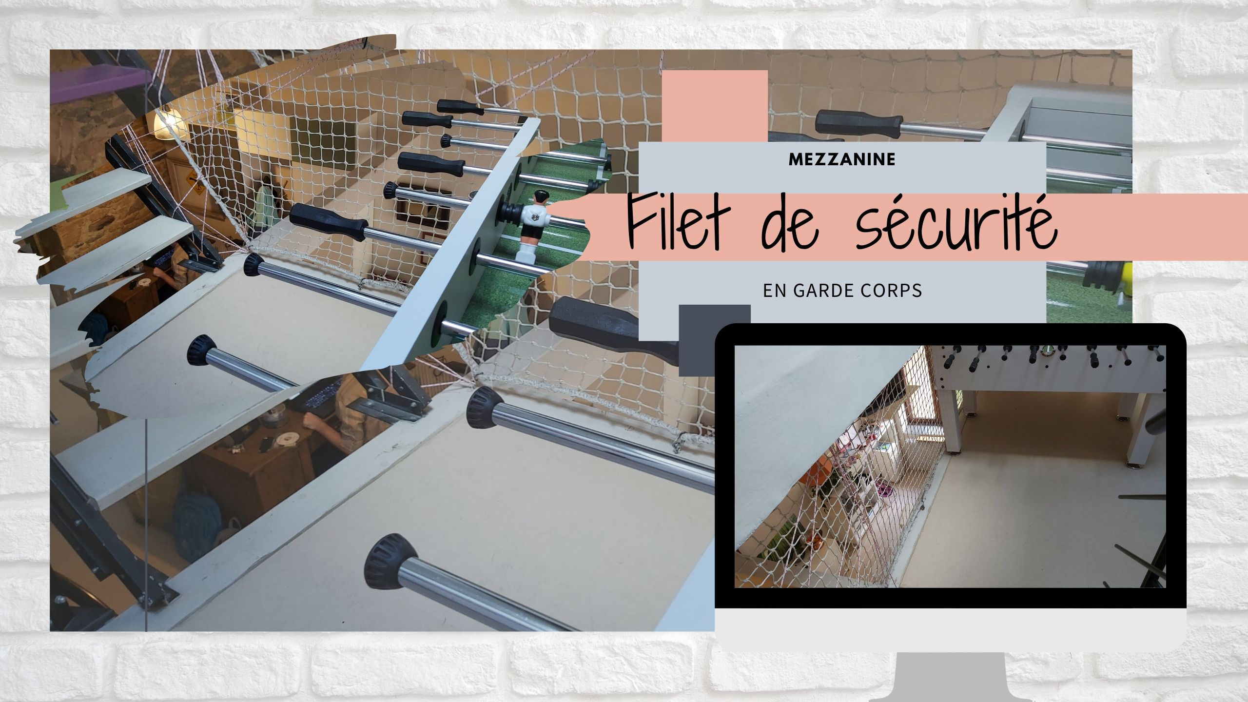 filet mezzanine filet de securite