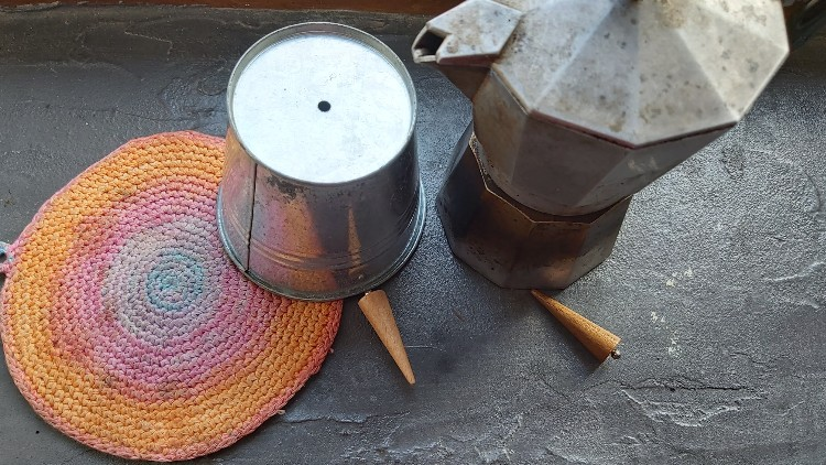 béton ciré plan de tarvail carrelé cuisine
