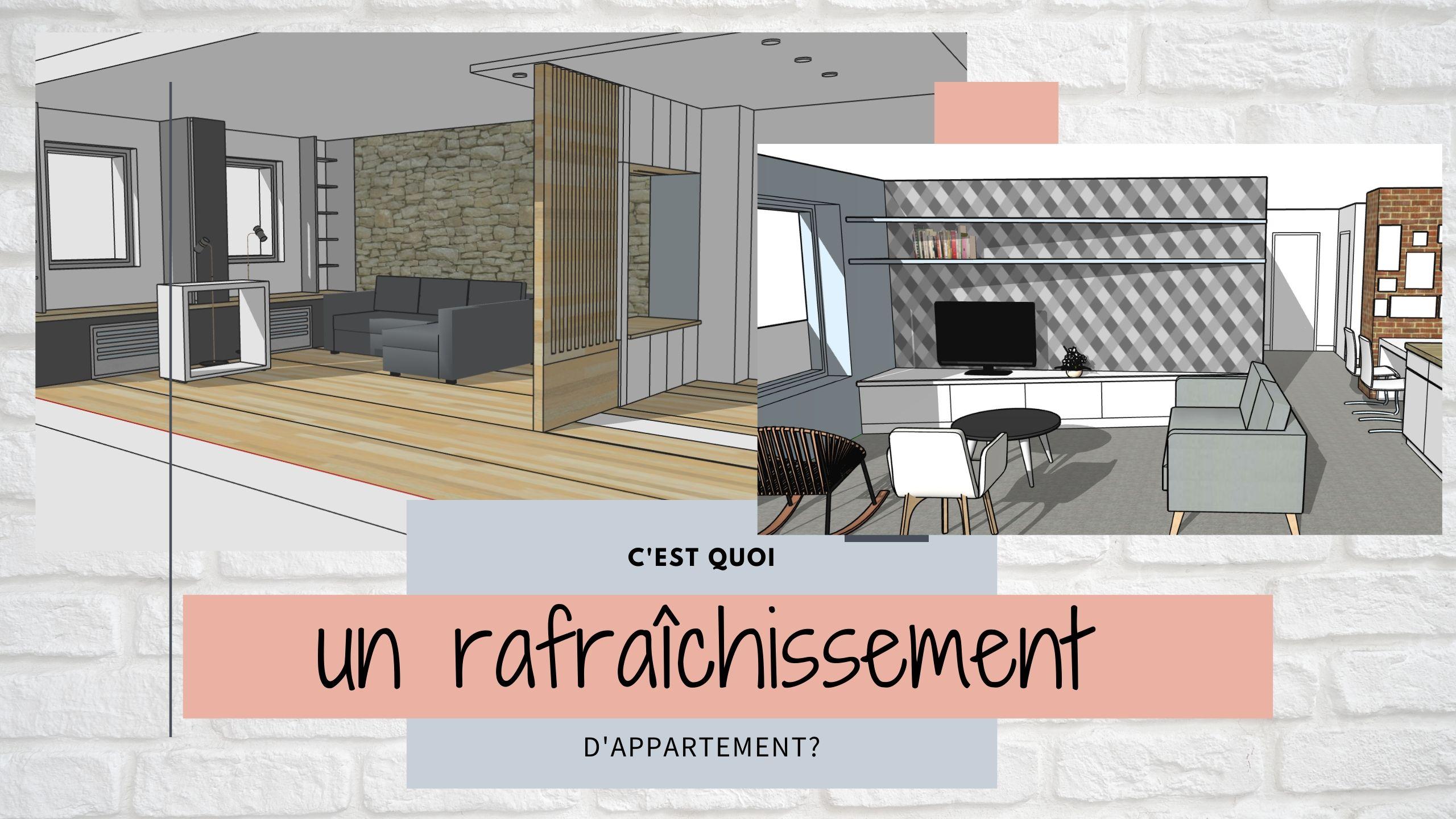 coût rénovation appartement 80m2 rafraichissement