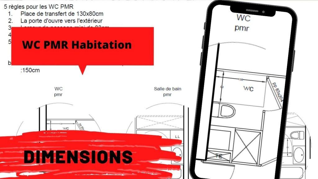 wc pmr dimensions