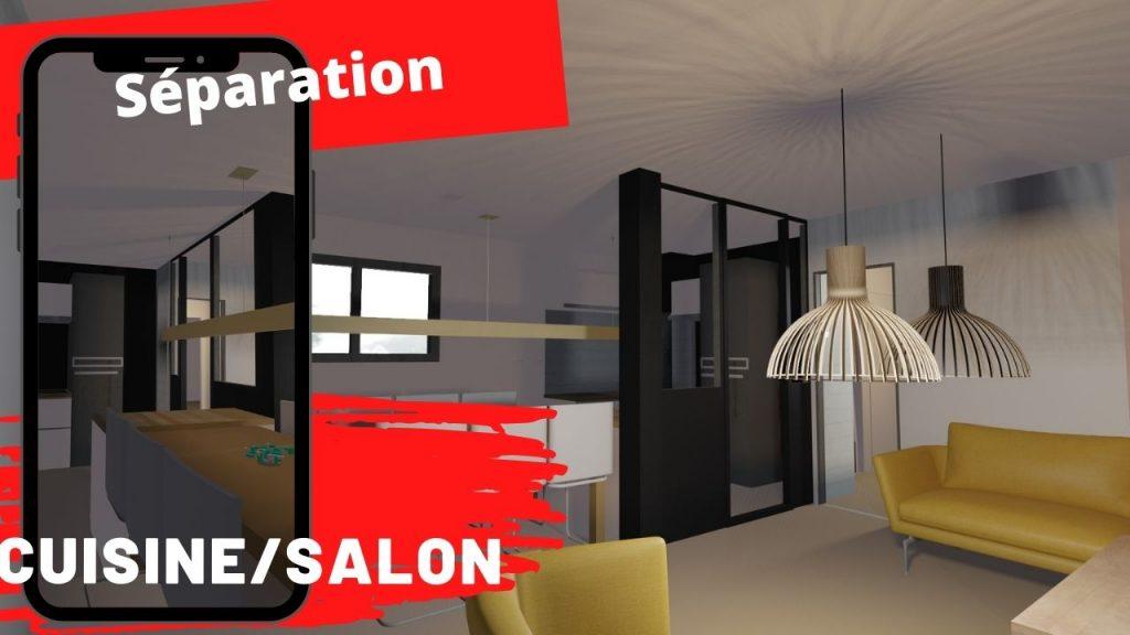 separation cuisine salon