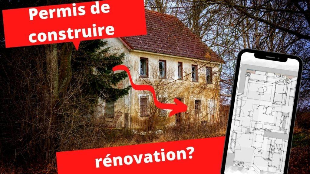 permis de construire pour renovation
