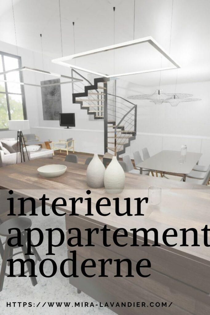 interieur appartement moderne décoration