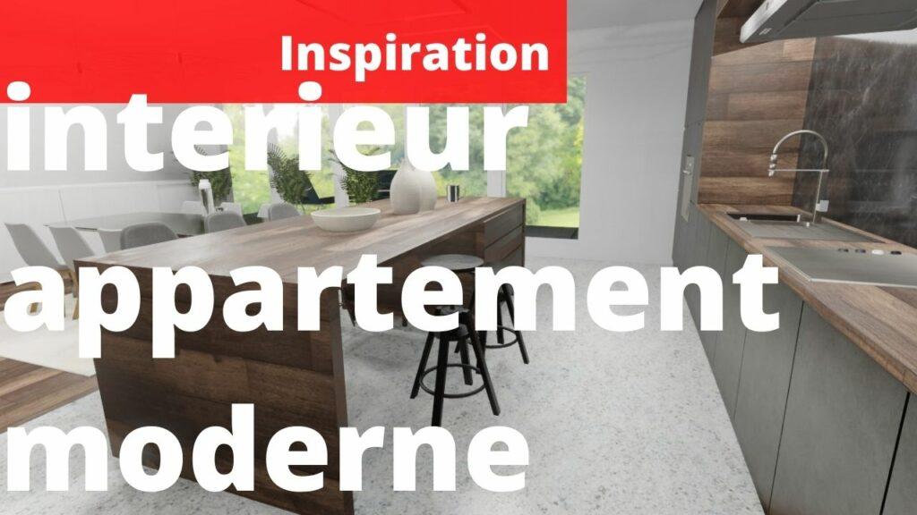 interieur appartement moderne