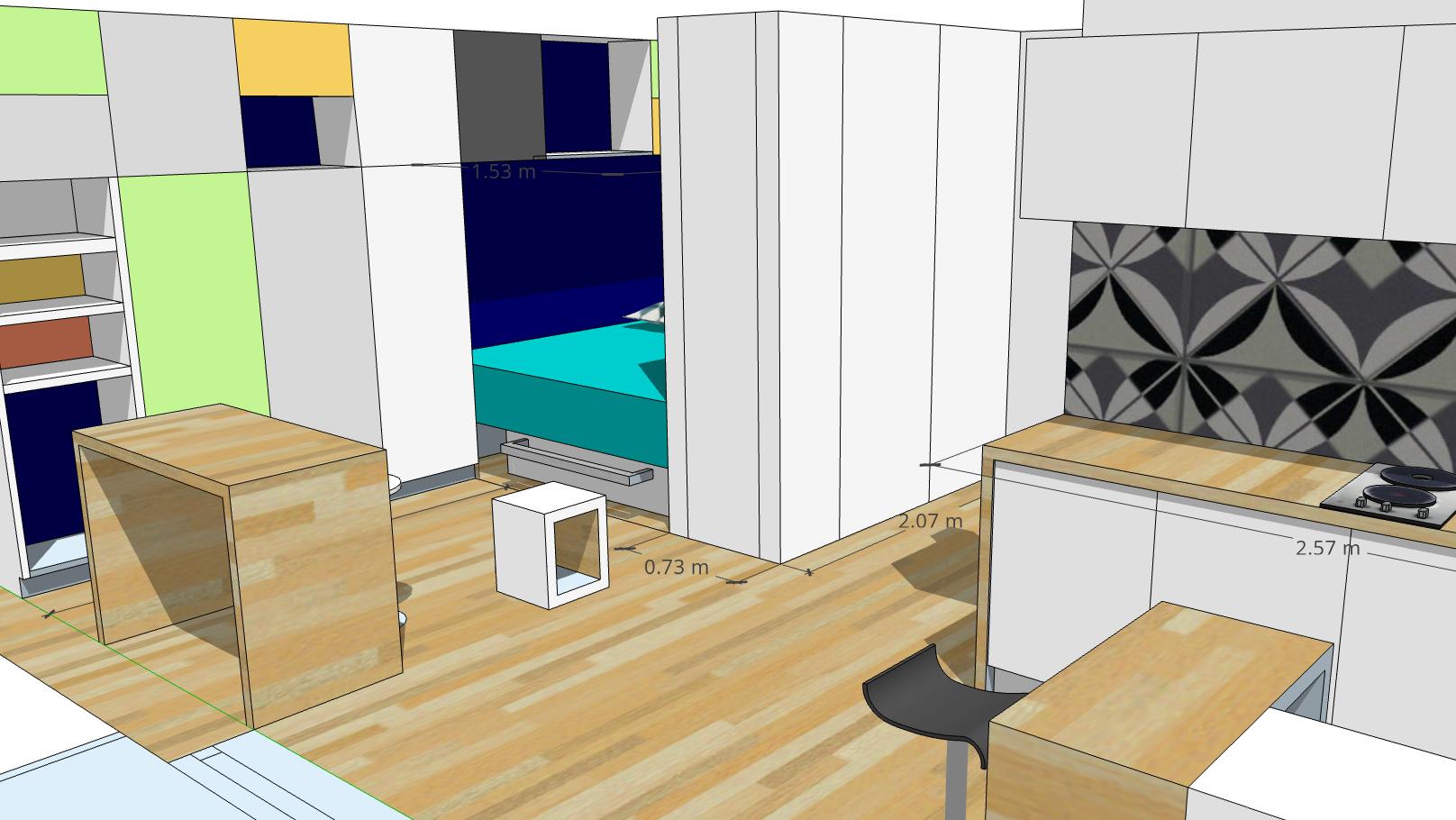 Aménagement Mezzanine Petit Espace aménagement studio 30m2