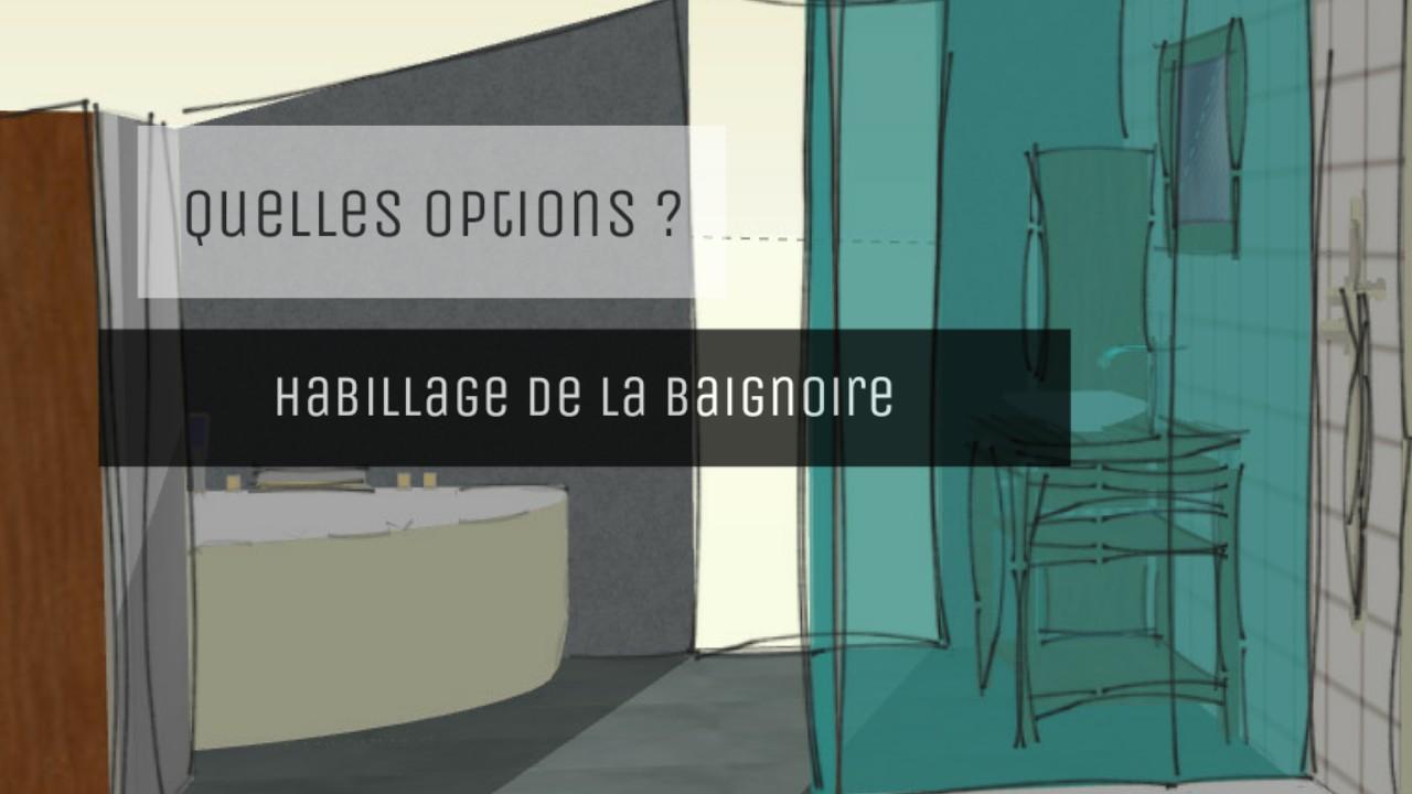 Decoration Tablier De Baignoire quatre idées pour l'habillage d'une baignoire