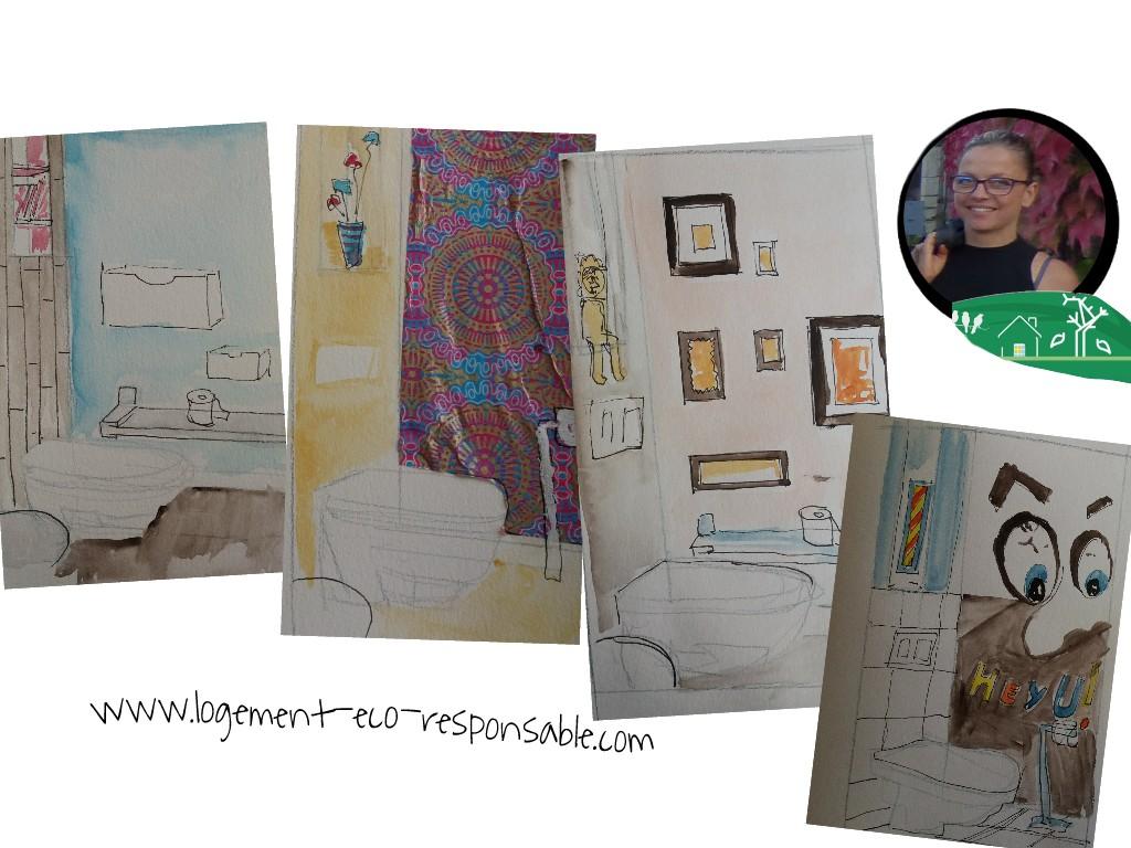 la d co des wc. Black Bedroom Furniture Sets. Home Design Ideas