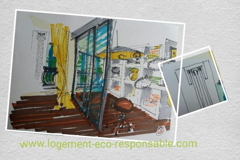 dessiner le plan d 39 une suite parentale. Black Bedroom Furniture Sets. Home Design Ideas