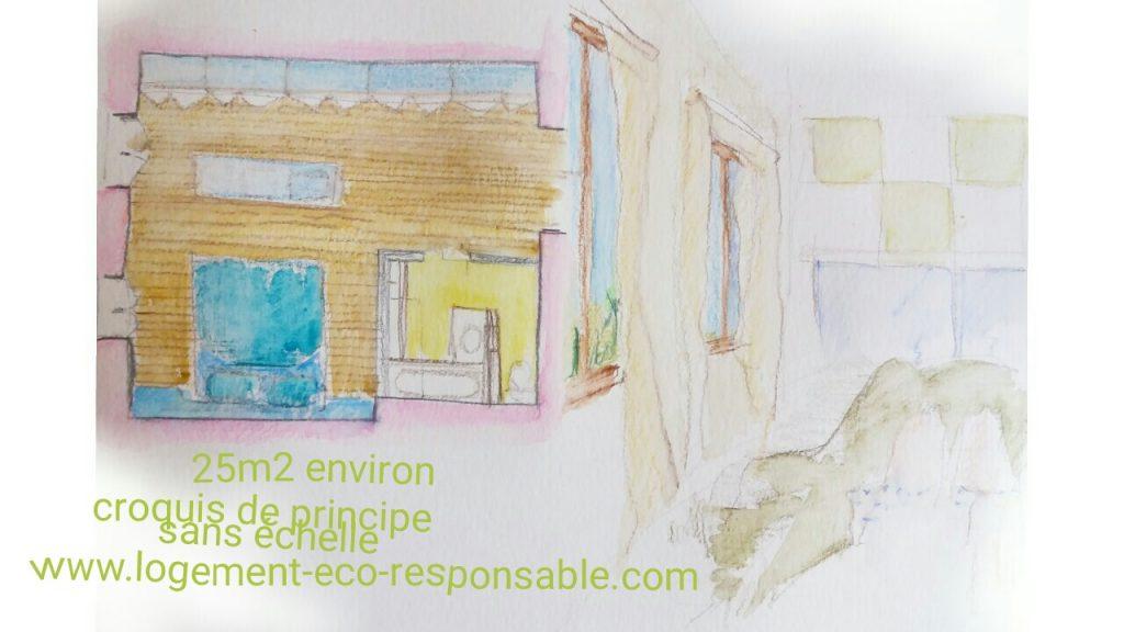 Extension pour cr er une suite parentale avec salle de for Amenager une suite parentale avec dressing