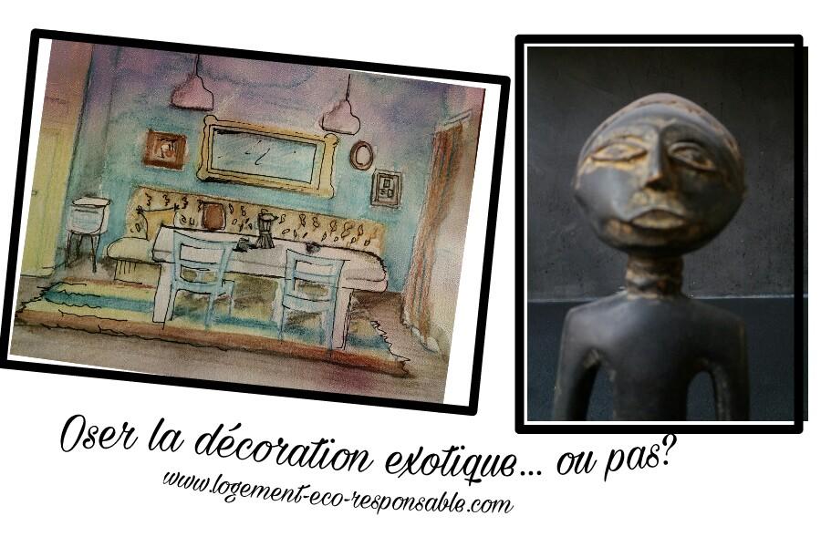 la decoration exotique pour votre maison oui ou non. Black Bedroom Furniture Sets. Home Design Ideas
