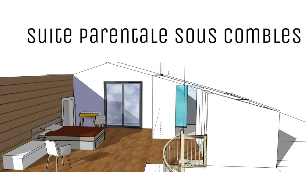 Aménagement Grenier En Chambre Autorisation aménager une suite parentale sous comble