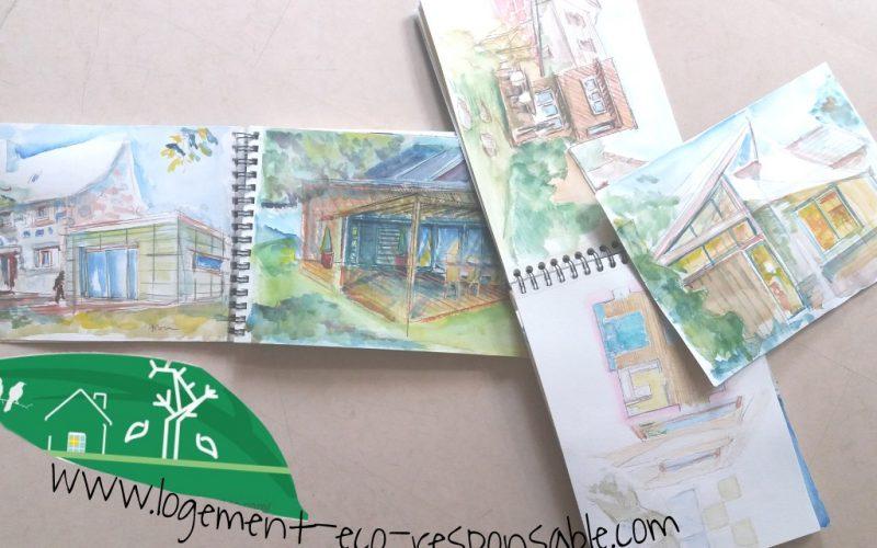 Dessiner sa maison en plan fa ade coupe et 3d petit tuto for Apprendre a dessiner une maison en 3d