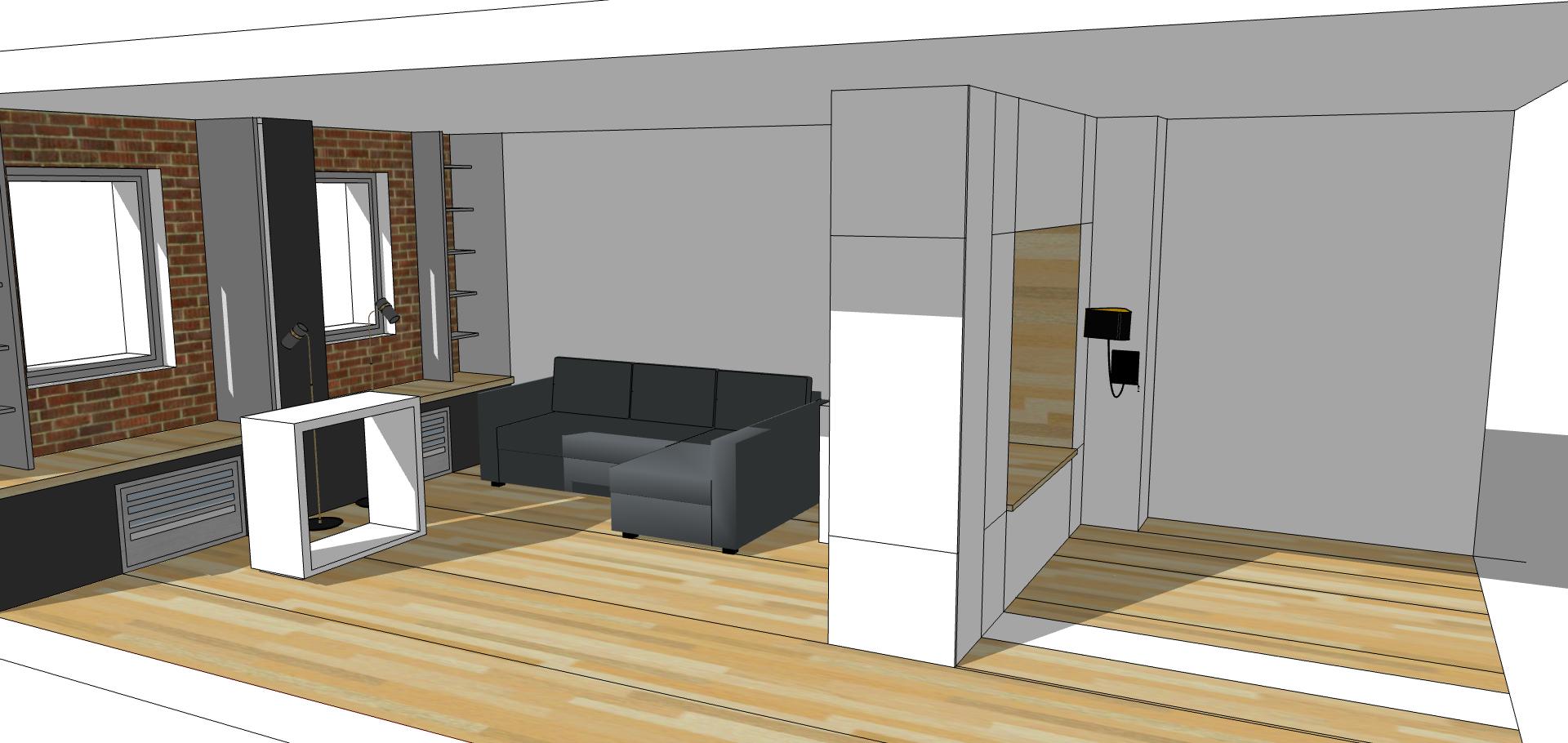 Separer Une Chambre D Un Salon aménager une entrée ouverte et préserver l'intimité