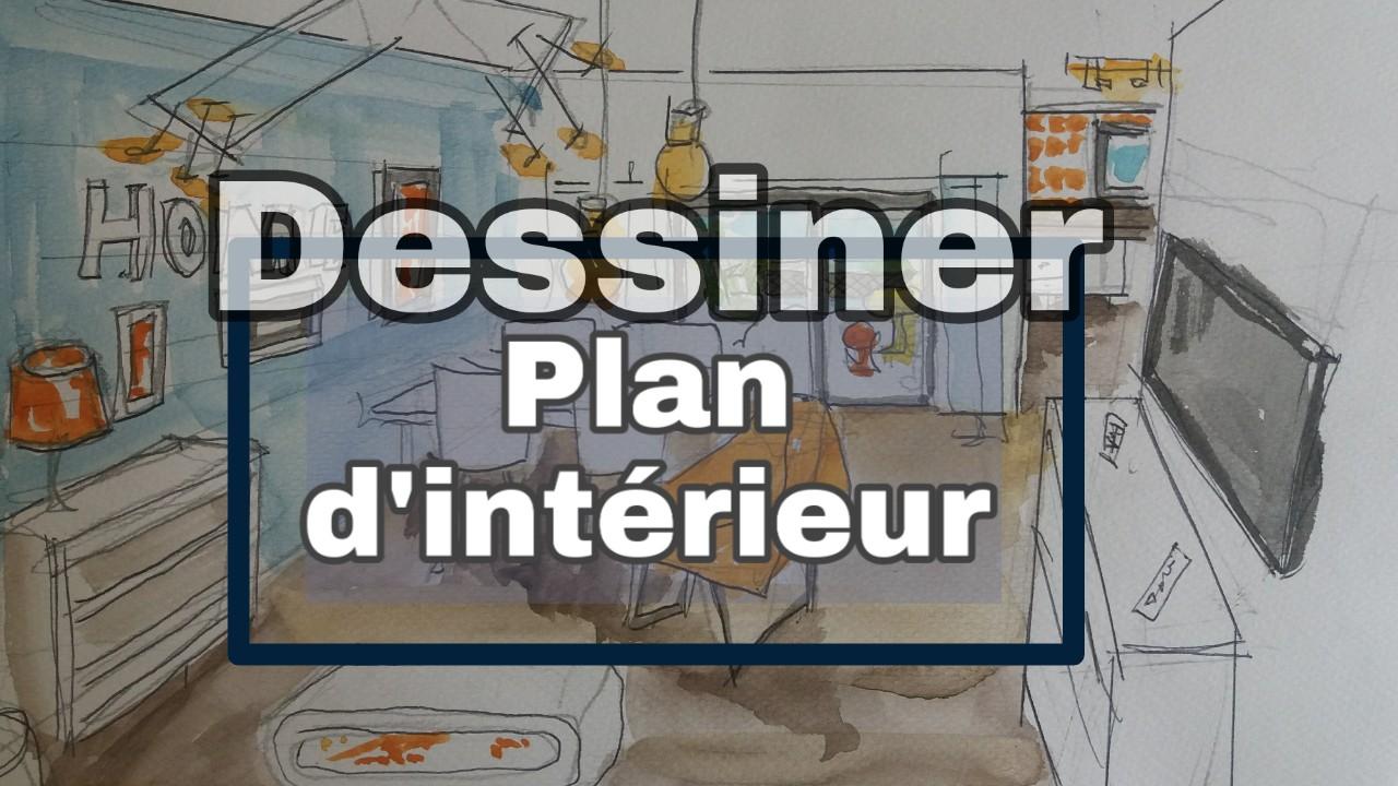 dessiner un plan et un projet d 39 int rieur. Black Bedroom Furniture Sets. Home Design Ideas
