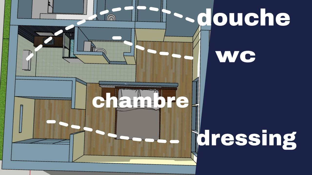 plan amenagement maison 35 m2