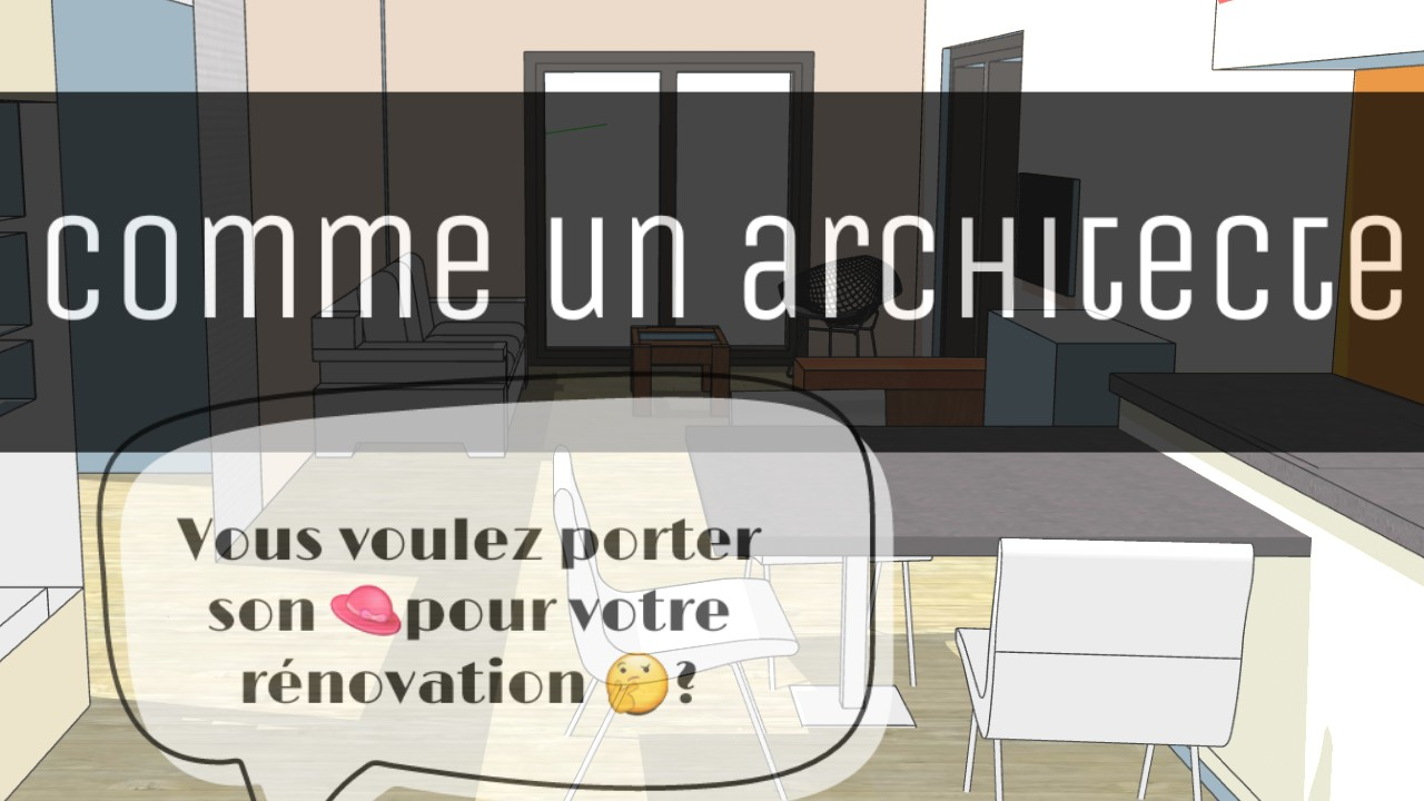 r nover sa maison comme un architecte logement co. Black Bedroom Furniture Sets. Home Design Ideas