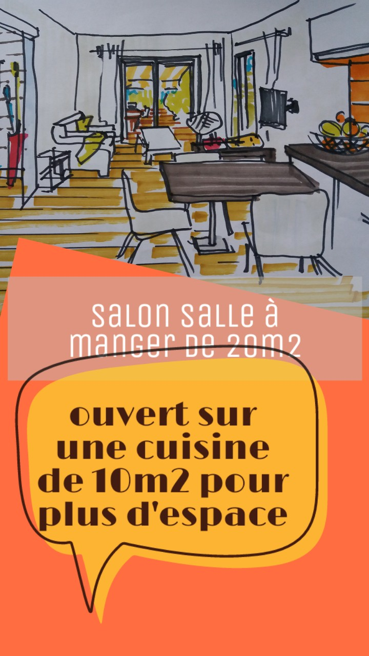 Aménager Un Petit Jardin De 20M2 agrandir et aménager un salon salle à manger de 20m²