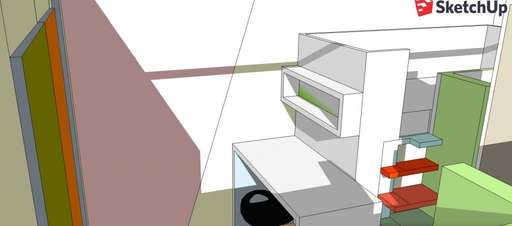Aménagement d\'une chambre pour deux enfants – exemple de ...